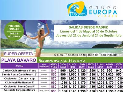 SUPER OFERTA PLAYA BAVARO