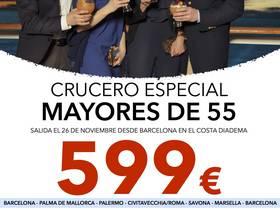 CRUCERO ESPECIAL MAYORES DE 55