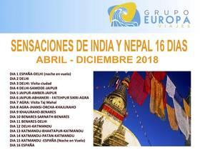 SENSACIONES DE INDIA Y NEPAL 16 DIAS